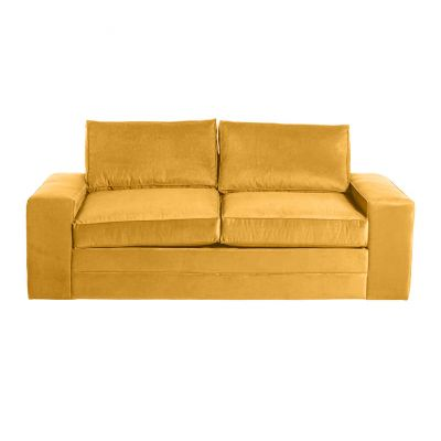 Sofá Cama Alfarr Mustard Amarillo